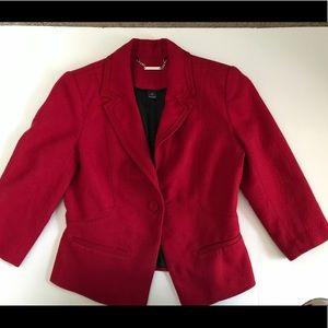 Whit House Black Market RED blazer